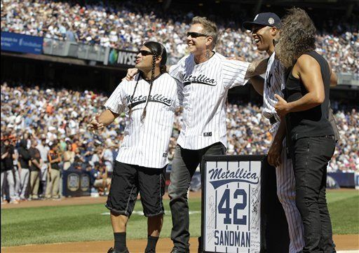 Bajista de Metallica elogia al panameño Mariano Rivera