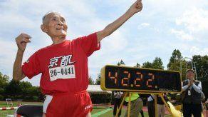 Fallece el velocista centenario japonés Golden Bolt Myazaki