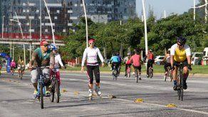 Alcaldía suspende ciclovía por preparativos del desfile Brilla la Navidad