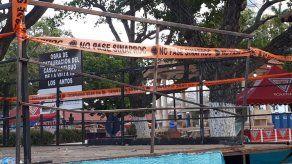Habilitan tarimas del Carnaval que habían sido clausuradas en Los Santos