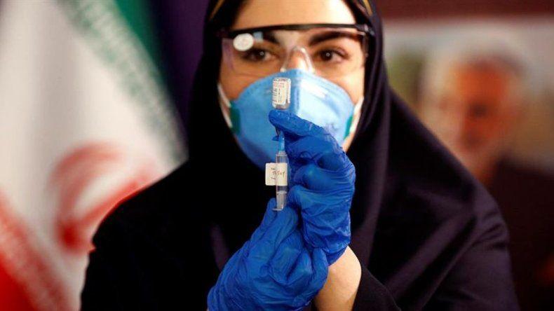 Irán empieza a probar su vacuna contra la COVID-19