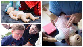 ¿Qué hacer frente a un caso de atragantamiento en bebés y niños?