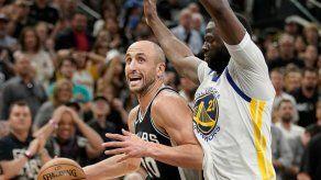 Ginóbili y Aldridge evitan que Warriors barran a Spurs