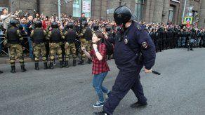 Juventud rusa se alza contra Putin