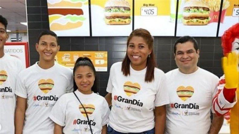 El Gran Día de McDonalds logró recaudar más de 114 mil dólares