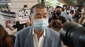 Hong Kong acusa a magnate Jimmy Lai por ley de seguridad