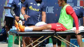 Ismael Diaz es baja deportiva por una contusión ósea y no jugará ante Túnez