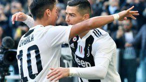 Ronaldo anota doblete y el VAR ayuda a que Juventus gane