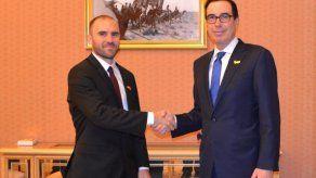 Primer encuentro productivo entre Argentina y EEUU para renegociar su deuda