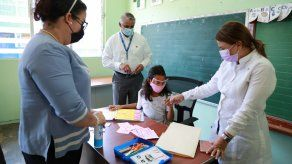 Los planteles educativos con baja matrícula están siendo inspeccionados por equipos de trabajo del Meduca, para verificar que cumplan con los protocolos de bioseguridad.
