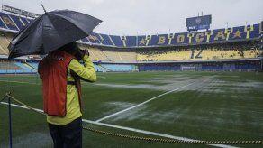 El Boca-River de final de Libertadores se posterga al domingo por lluvias