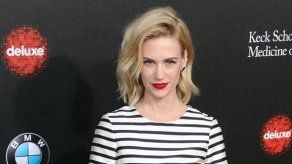 January Jones se planteó buscar el amor en un reality show