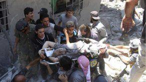 Ataque aéreo sirio mata a 11 personas en mercado concurrido