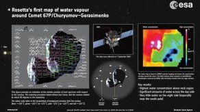 El robot Philae vuelve a transmitir datos a la Tierra desde un cometa