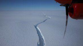 Un iceberg gigante del tamaño de Londres se desprende de la Antártida