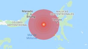 Indonesia emite alerta de tsunami tras sismo de magnitud 6