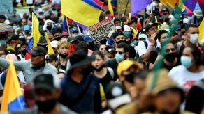 Las movilizaciones tomaron el país hace dos semanas, inicialmente para protestar contra la ya retirada reforma tributaria presentada por el Gobierno del presidente Iván Duque.