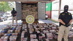 Decomisan 661 paquetes con presunta droga en contenedor ubicado en puerto del Pacífico