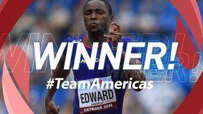 Alonso Edward gana la Copa Intercontinental de Atletismo