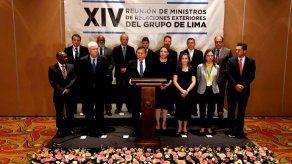 El Grupo de Lima se reunirá en Buenos Aires el 23 de julio
