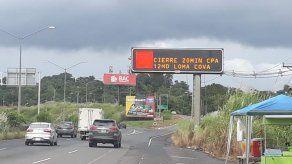 Anuncian cierre del tráfico en Loma Cová para este 11 de marzo