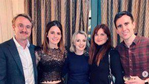 Cinco de los protagonistas de Harry Potter se reúnen por Navidad