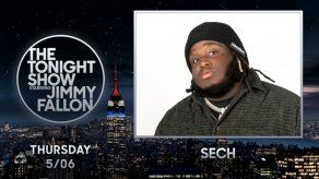Sech está listo para aparecer esta noche en The Tonight Show Starring Jimmy Fallon.