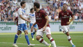 Milan vence a Brescia 1-0 en la Serie A