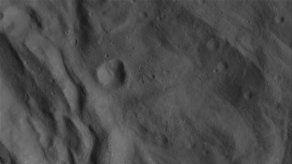Revelan nueva vista del gigante asteroide Vesta