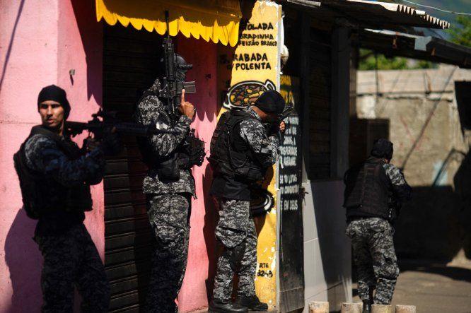 La operación en Brasil se desencadenó en el marco de una investigación sobre una banda que reclutaba niños y adolescentes para el tráfico de drogas