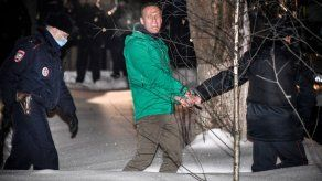 La UE exigió a Putin la liberación del opositor Navalni