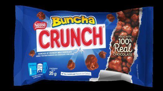 Irresistibles chocolates Buncha Crunch de Nestlé llegan a Panamá