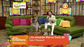 Marco Oses aclara que no se va de Calle 7 Panamá