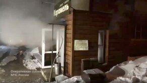 Cinco muertos tras reventar una tubería en un hotel ruso