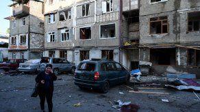 Irán advierte sobre caída de misiles de la guerra entre Armenia y Azerbaiyán