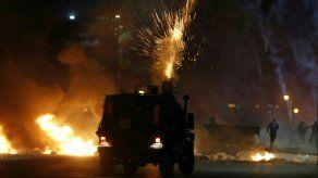 Plena escalada entre Israel y las milicias palestinas en la Franja de Gaza.
