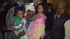 Policía india rescata a 23 niños y mata a su supuesto captor