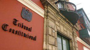Fachada del Tribunal Constitucional de Perú.