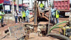 Ciudad de Panamá y San Miguelito sin agua este martes por reparación final de tubería en Vía Brasil