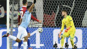 Contundente mensaje de Man City: victoria 4-0 en Basilea