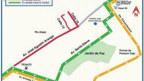 Desvíos en Vía España por desfile de la Etnia Negra este domingo