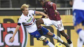 Torino y Sampdoria empatan 2-2 en la Serie A