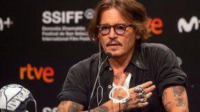 Johnny Depp presenta en San Sebastián el film del cantante irlandés Shane MacGowan