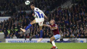 Brighton gana a West Ham y lo rebasa en tabla de la Premier