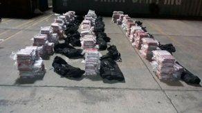Decomisan en Colón mil paquetes de droga en contenedor con destino a Bélgica