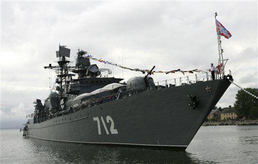 Armada rusa visitará Libia en camino a Venezuela
