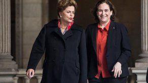 Rousseff agradece el apoyo de los españoles comprometidos con la democracia