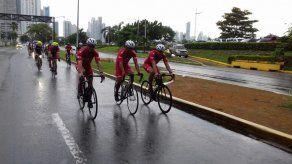 Ciclistas se animan con el Ride del Giro RPC Radio