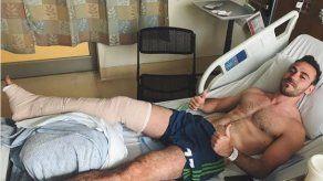 Francisco Narbón será operado de fractura de tibia y peroné y se pierde la temporada