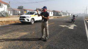Minsa realiza pruebas de concentración del humo tras incendio de vertedero en Chitré
